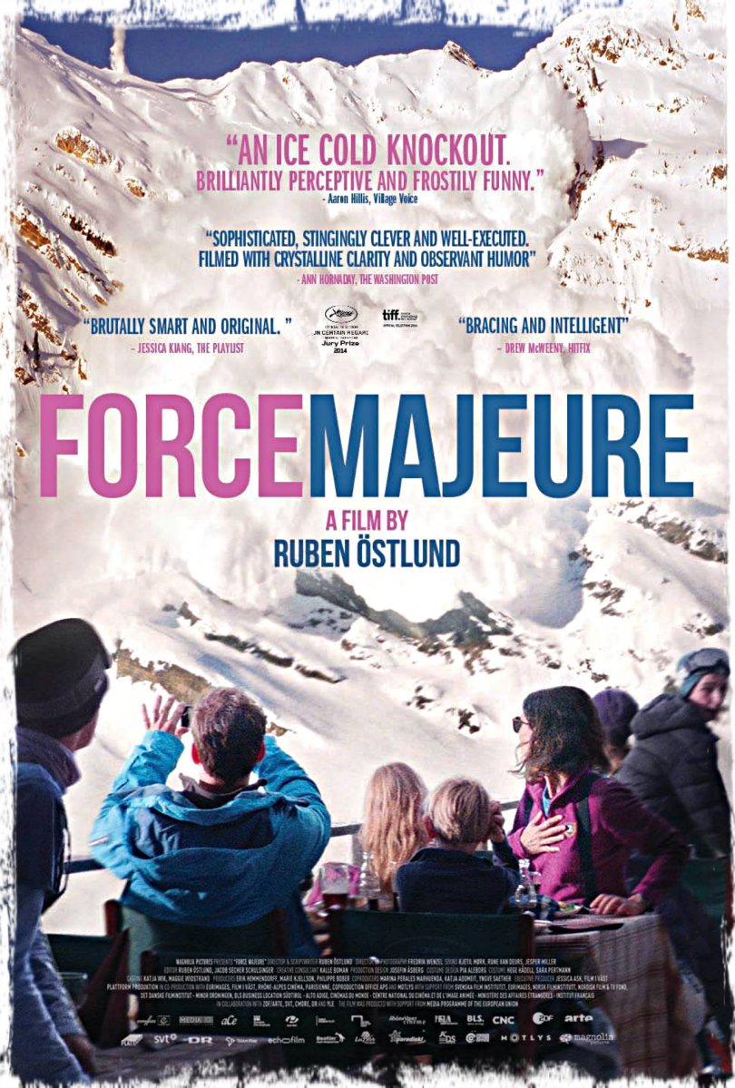 FORCE MAJEURE (Turist) [2014]