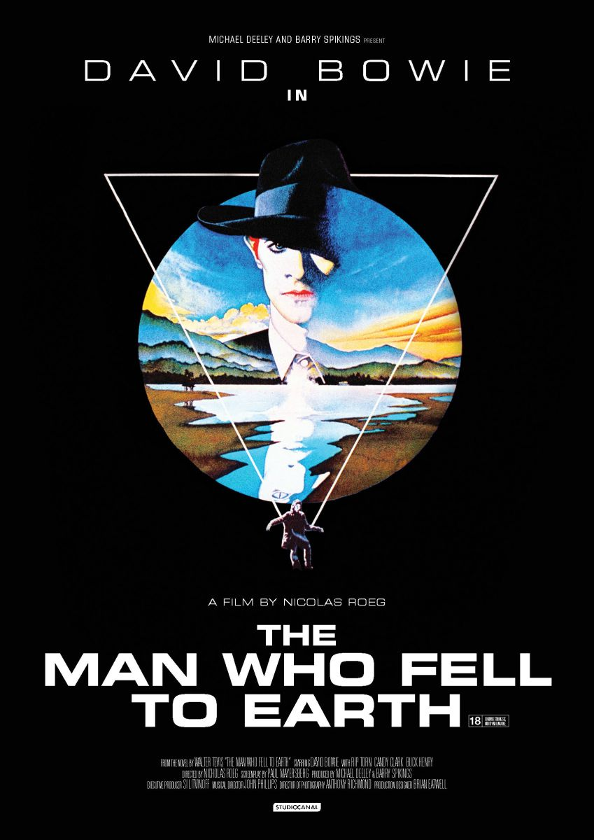 BLINDSIDED BY THE MAN WHO FELL TO EARTH [1976]